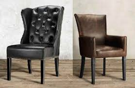 faux leather dining chair black: leather dining chairs of greyson tufted dining side chair in black faux leather and black