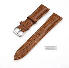 Movado 14mm <b>Genuine Leather Band</b> Strap Silver Buckle Watches ...