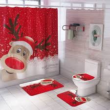 <b>QIFU Christmas</b> Bathroom Toilet Mat Navidad 2020 Merry <b>Christmas</b> ...
