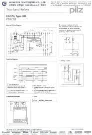 pilz srinutch lnw electric relay i l z 839415 s1mn 230vac 2n o pnoz
