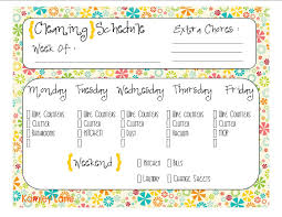 best images of printable house cleaning charts daily house printable weekly house cleaning schedule