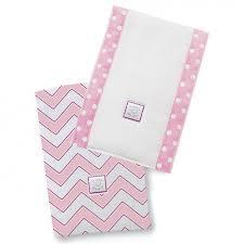 <b>Полотенчики SwaddleDesigns Baby Burpie</b> Set Pink/VB Trim ...