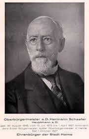 <b>...</b> ehemalige Oberbürgermeister von Herne, <b>Hermann Schaefer</b>, wie er am 24. - Hermann_Schaefer