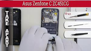 How to disassemble <b>Asus Zenfone C</b> ZC451CG Take apart Tutorial ...