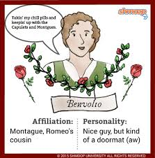 benvolio montague in romeo and juliet character analysis