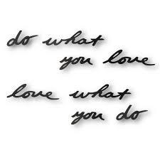 <b>Декоративная надпись</b> Do What You <b>Love</b> – купить в интернет ...