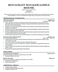 restaurant manager resume will ease anyone who is seeking for job restaurant manager resume will ease anyone who is seeking for job related to managing a restaurant