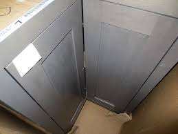 Grey Stained Kitchen Cabinets Kitchen Cabinets Gray Stain Quicuacom