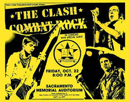 essay a brief history of punk rock in the cold war   usni news a poster as part of the clashs combat rock tour