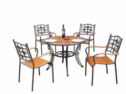 <b>Комплект мебели</b> из металла и дерева (<b>4</b>+1 ,белый): продажа ...