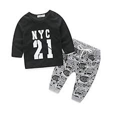 Buy <b>Newborn Clothes</b> for Bebes Style Letter Printed <b>Casual Baby</b> ...