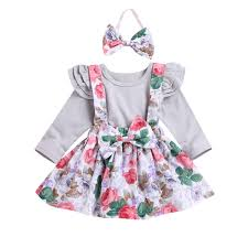 US 2PCS Newborn <b>Baby Girl Clothes</b> Knitted Romper Tops Ruffle ...