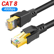 <b>Cat8 Ethernet Cable RJ45</b> 8P8C Network 2000Mhz High Speed ...