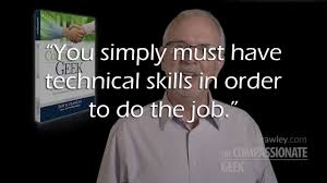 don crawley are tech skills or customer service skills more don crawley are tech skills or customer service skills more important