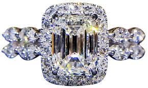 Koolee <b>fashion</b> ring,Temperament <b>Square Diamond</b> Ring Marriage ...