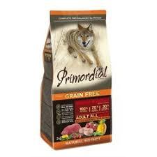 <b>Сухой корм Primordial</b> для собак беззерновой с мясом буйвола и ...