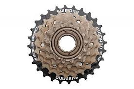 <b>Bicycle Freewheel MTB</b> MF-TZ500-7 Threaded <b>Freewheel</b> 7 Speed ...