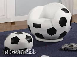 Soccer Decorations For Bedroom Soccer Theme Rooms Small Kids Soccer Chair With Ottoman Boys