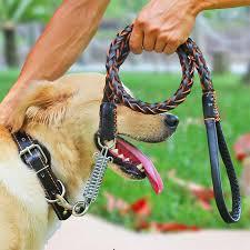 <b>Dog</b> Leads Cowhide <b>Weave</b> Traction Rope Large <b>Dog</b> Chain <b>Puppy</b> ...