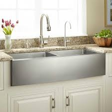 doubles stainless steel sink