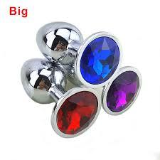 <b>Анальная Пробка Большая</b> Swarovski <b>BIG Crystal</b> Plug — в ...