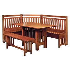 amish bay hill breakfast nook amish furniture shipshewana furniture co amish breakfast nook set