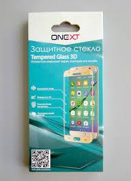 <b>Защитное стекло ONEXT</b> для Samsung Galaxy Note 8 Black от ...
