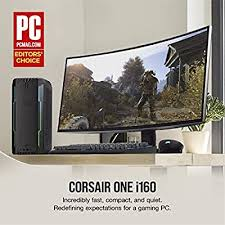 CORSAIR ONE i160 Compact Gaming PC, i9-9900K ... - Amazon.com