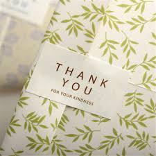 <b>96pcs</b>/Set <b>Thank you</b> Kraft Seal Stickers For Handmade Products ...