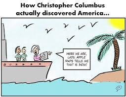 Funny Columbus Day Quotes, wallpapers, images via Relatably.com