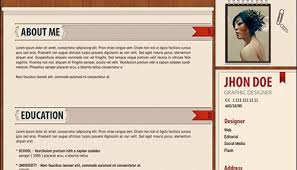 110+ Best Free Creative Resume Templates [Updated] Amazing and Creative Free Resume PSD Template