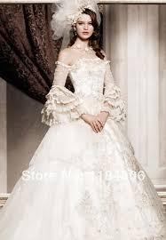 <b>Free Shipping</b> !! 2014 Ball Gown long sleeve <b>wedding</b> dress HK-679 ...