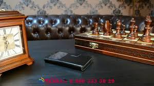 Чехол-книжка для телефона кожаный с окошком для вызовов с ...