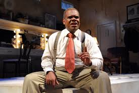 satchmo s split actor craig wallace takes on the roles of the great jazz trumpeter louis armstrong his