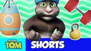 Super Strong <b>NEW CARTOON</b> Talking Tom Shorts (S2 Episode 5 ...