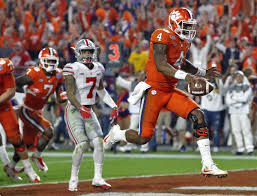 clemson routs ohio state in fiesta bowl to set up bama rematch playoff fiesta bowl football