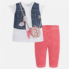 Mayoral комплект футболка и <b>леггинсы</b> mayoral для девочки ...