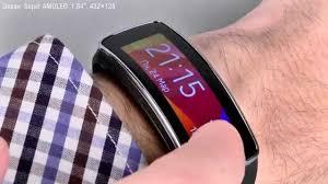 <b>Samsung</b> Gear Fit - <b>умный</b> фитнес-<b>браслет</b> - YouTube