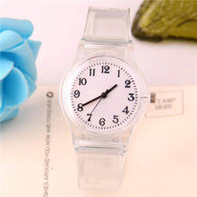 Shop <b>Transparent Clock Silicon</b> Watch - Great deals on Transparent ...