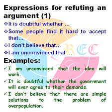 how to refute an argument in ielts writing     band  – real essay    now  you give some examples