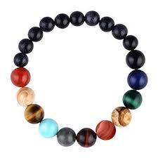 Menglina Women Stone Bead Charm Bracelet ... - Amazon.com