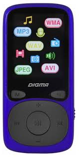 Купить <b>Плеер Digma B3 8Gb</b> синий/черный по низкой цене с ...