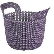<b>Корзина Curver Knit</b> универсальная <b>круглая</b> 3л купить с ...