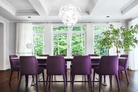 Tufted Dining Room Sets Dining Room Table And Chairs And Elegant Dark Violet Velvet With