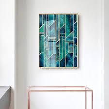 Nordic <b>Geometric Line</b> Posters and Prints <b>Wall</b> Art Canvas Painting ...