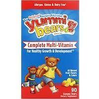 Hero Nutritional Products, Yummi Bears, мультивитаминный ...