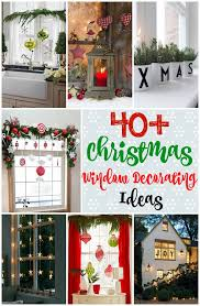 40+ Stunning Christmas Window Decorations Ideas – All About ...