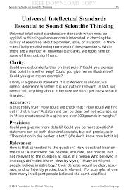 scientific thinking dc 13