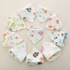<b>3pcs</b>/<b>set</b> Muslin Cotton Baby <b>Bibs</b> Girls Boys Baby Cloth Babador ...