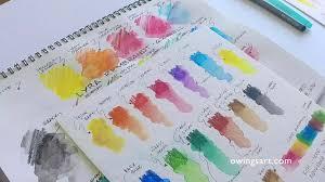 <b>Lyra</b> Rembrandt <b>Aquarell Watercolor</b> Pencils - YouTube